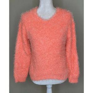 NWT FRESHMAN 1996 Girls Eyelash Chenille Sweater L